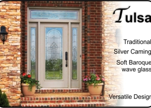 traditional-single-front-entry-door-glass-insert-with-beveled-glass-and-sidelights