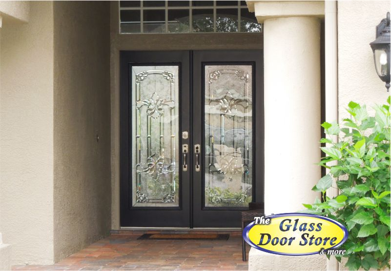 double front doors with glass door inserts