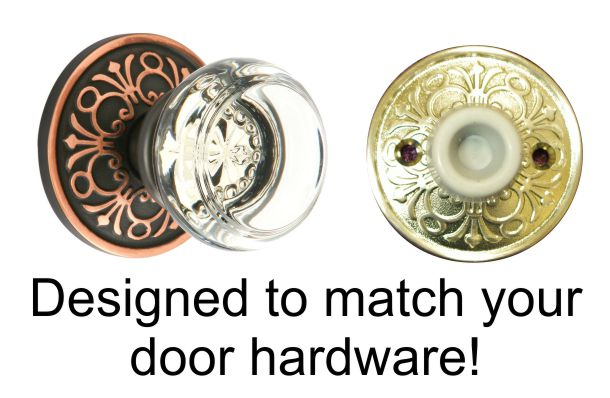 Wall bumpers that match your door hardware