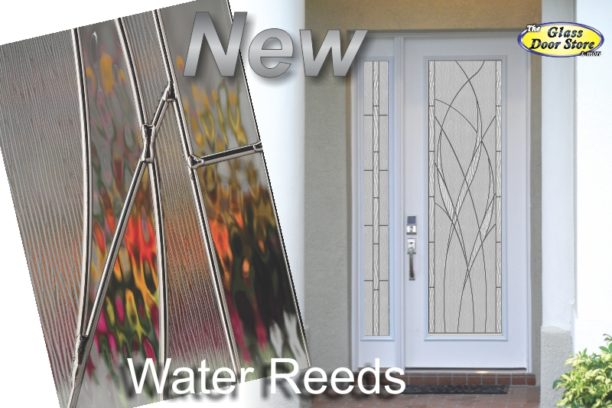 Waterside glass door insert