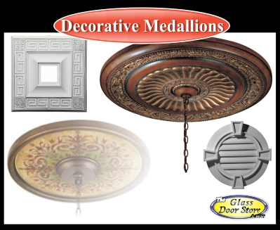 ceiling medallions for hanging light or fan