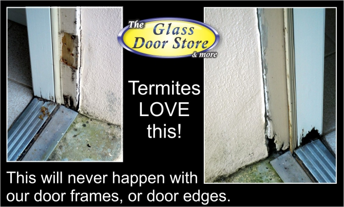 installer for prehung doors replaces bathroom exterior door with rotten door and frame