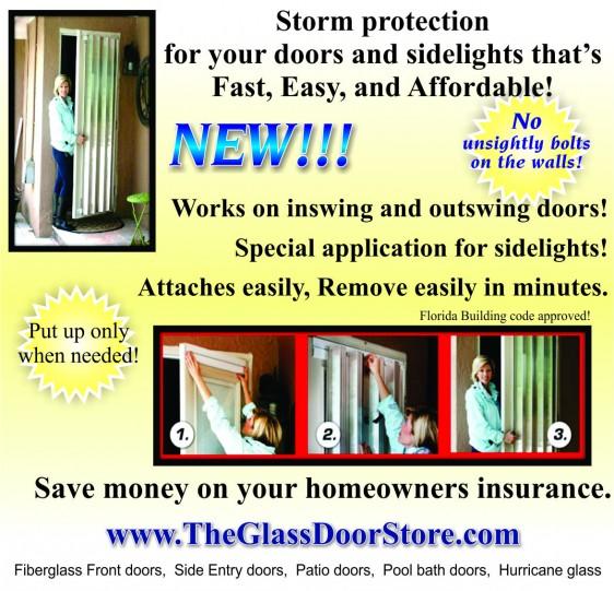 removeable hurricane shutter