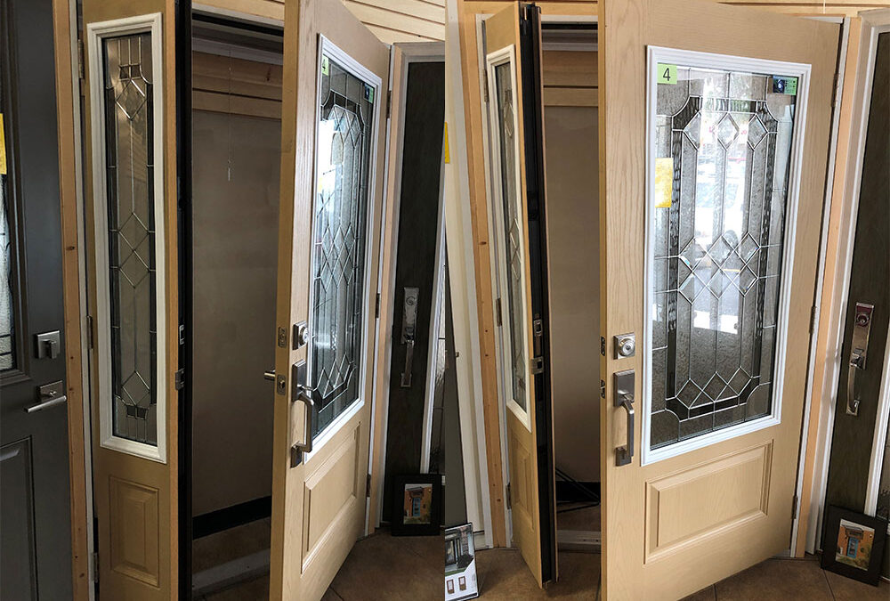 Active Sidelight for your Front Entry