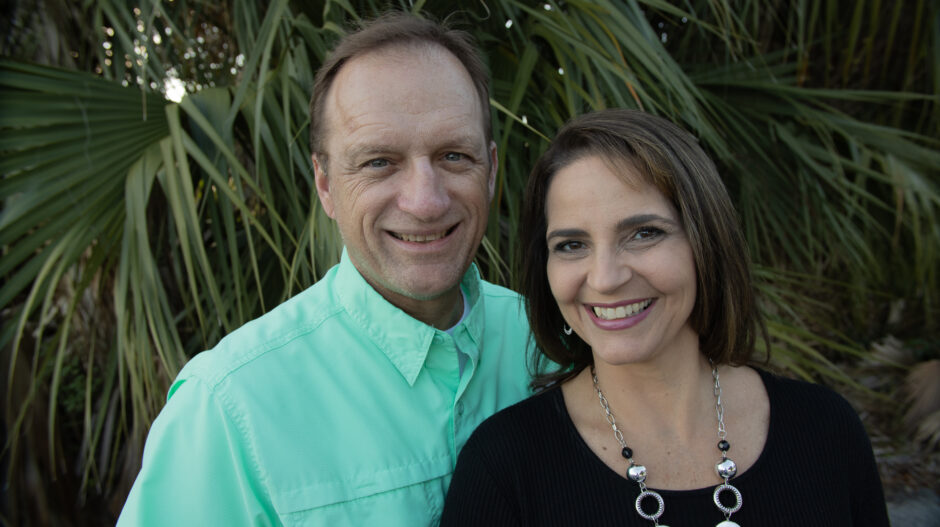 Andy and Angel Bates - Owners of The Glass Door Store
