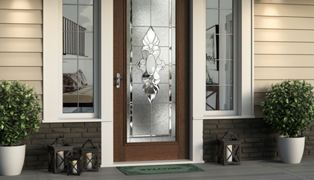 Decorative Glass Inserts for 30 Inch Doors