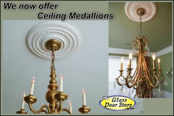 we now offer ceiling medallions